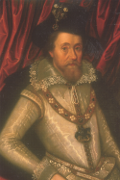 painting of James I