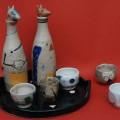 Jill Fanshawe Kato's 'Asobi Sake set'.  Photo: Setsuo Kato