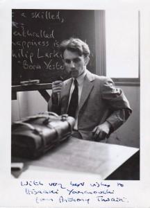 Anthony Thwaite at Tokyo University (Komaba) in 1957
