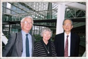 Professor Yamanouchi with the Thwaites in Tokyo, 2005